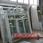 Готовые пластиковые окна на складе.